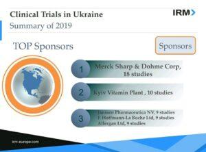 Clinical trials in Ukraine 2019